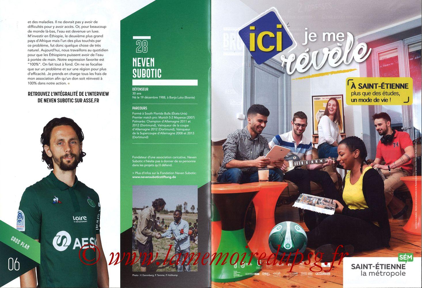 2019-02-17  Saint Etienne-PSG (25ème L1, Maillot Vert N° 13) - Pages 06 et 07