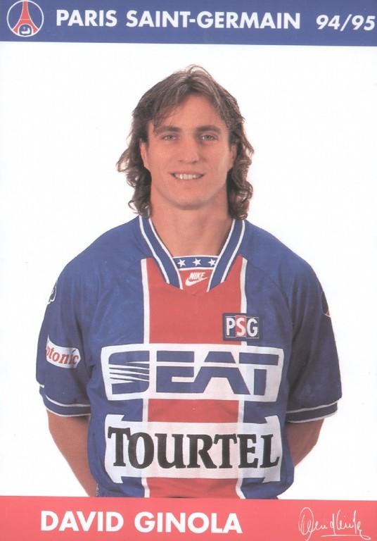GINOLA David  94-95