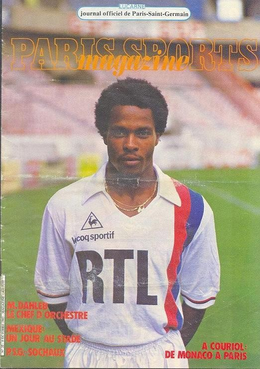 1983-10-08  PSG-Sochaux (13ème D1, Paris Sports Magazine N°22)