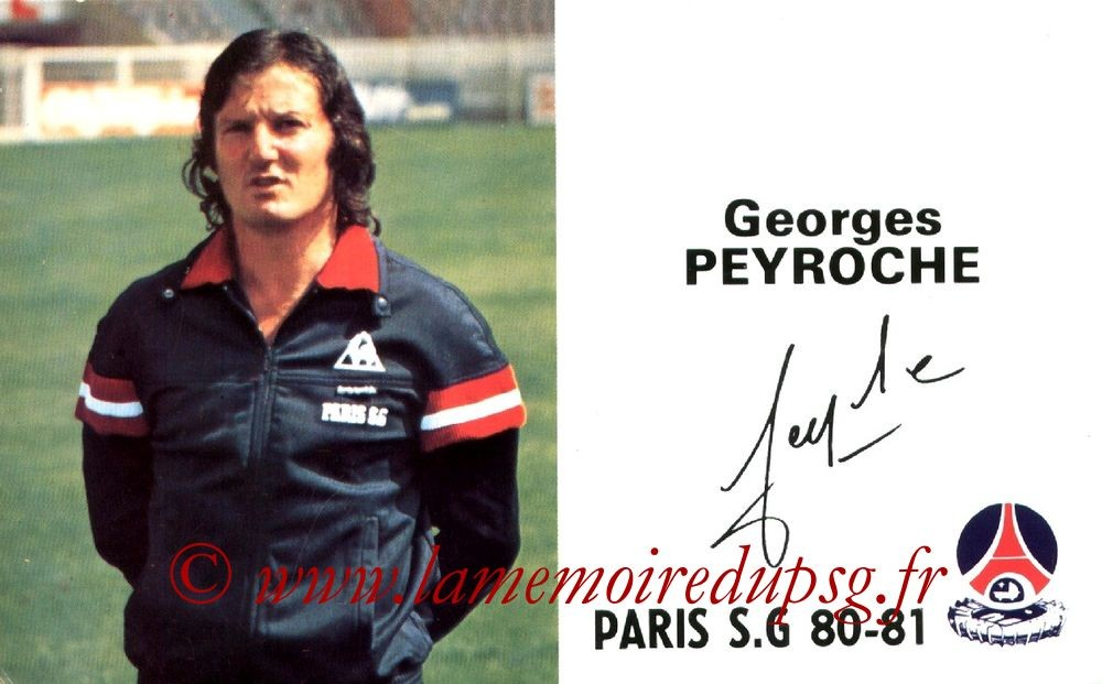 PEYROCHE Georges  80-81