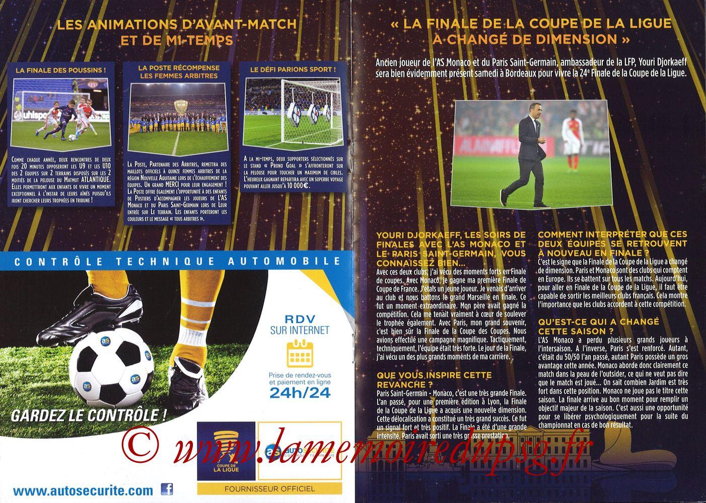 2018-03-31  PSG-Monaco (Finale CL à Bordeaux) - Pages 10 et 11