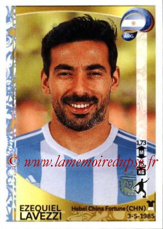 N° 322 - Ezequiel LAVEZZI (2012-Jan 2016, PSG > 2016, Argentine)