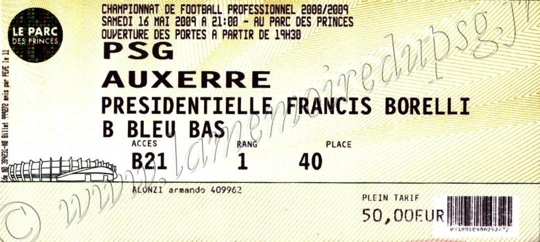 2009-05-16  PSG-Auxerre (36ème L1)
