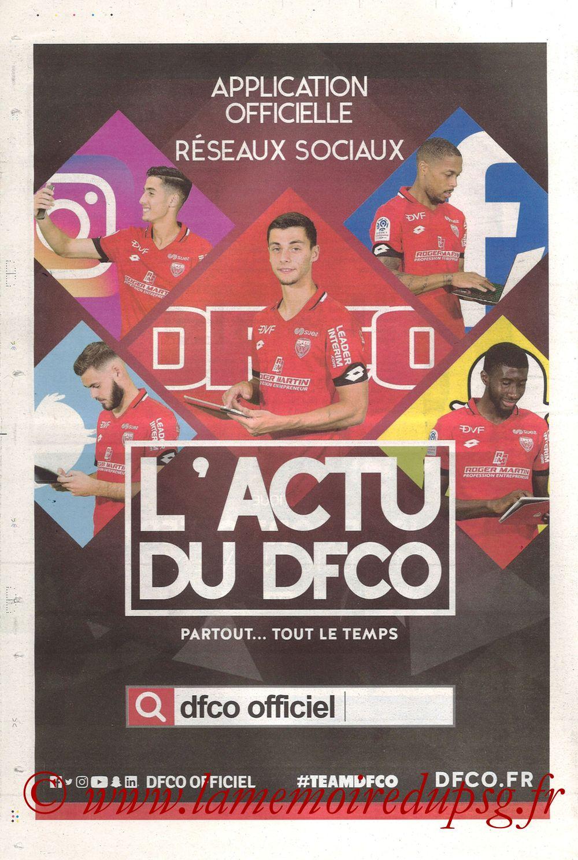 2019-11-01  Dijon-PSG (12ème L1, Chouett Infos) - Page 12
