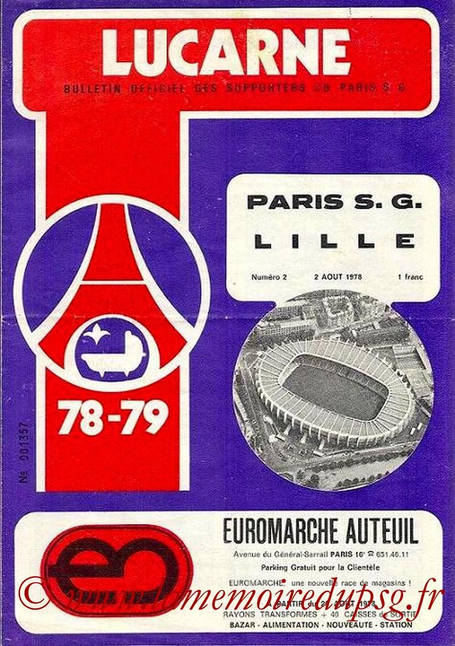 1978-08-02  PSG-Lille (4ème D1, Lucarne N°2)