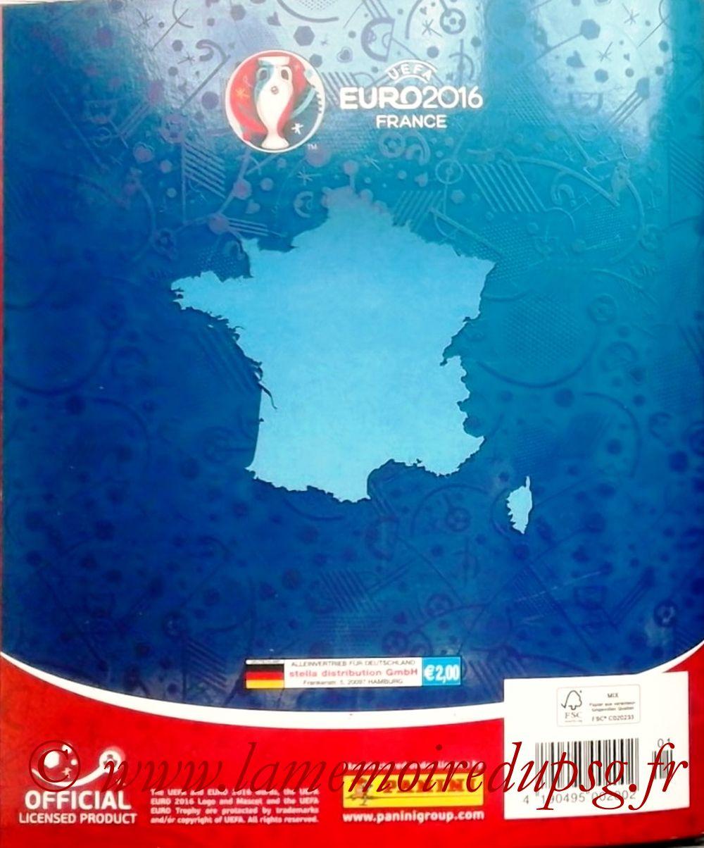 Panini Euro 2016 Stickers - Page 96 - Dos Album