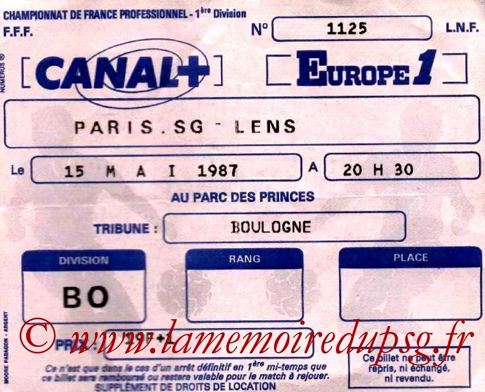 1987-05-15  PSG-Lens (35ème D1)
