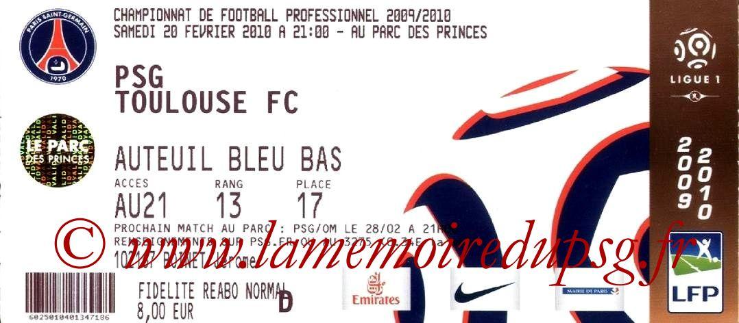 2010-02-20  PSG-Toulouse (25ème L1)