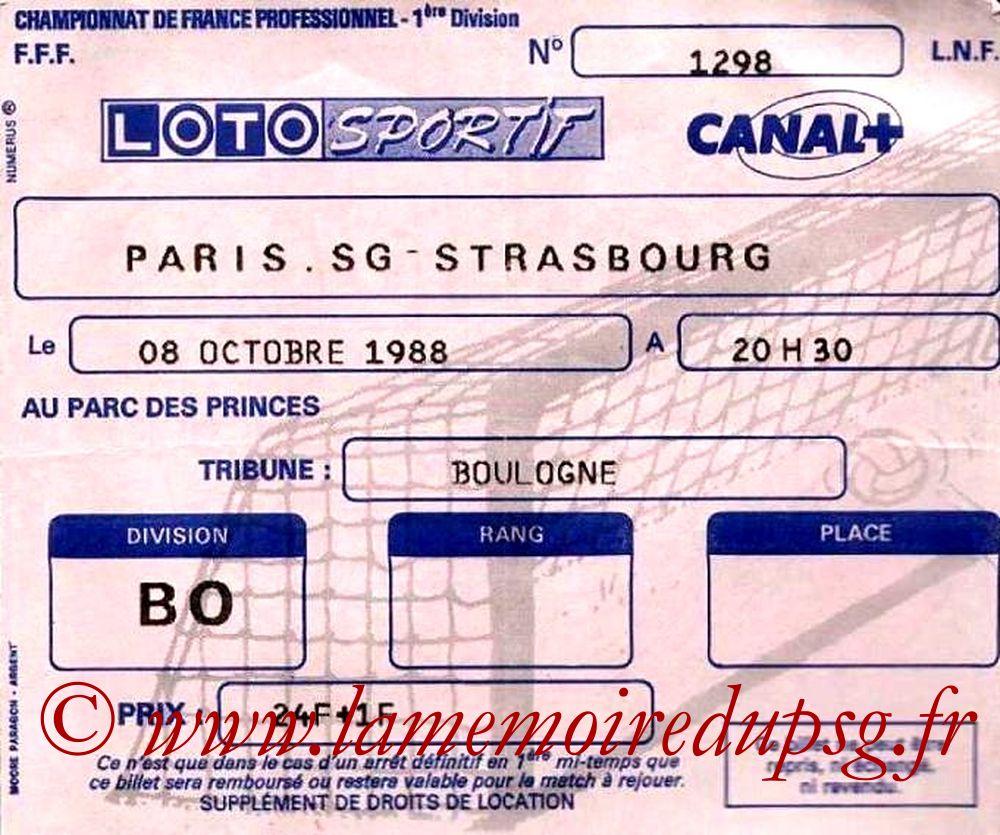 1988-10-08  PSG-Strasbourg (15ème D1)