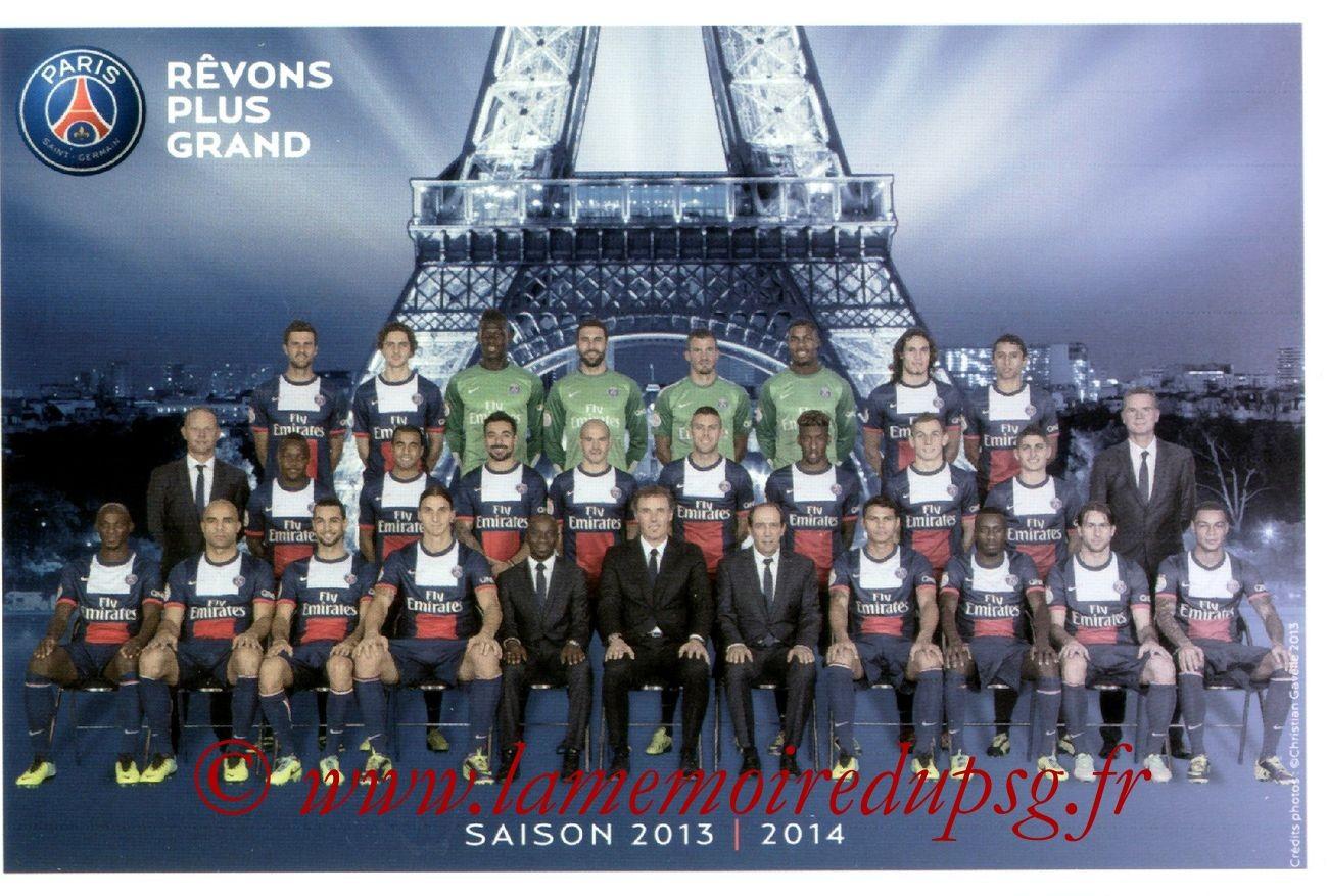 Equipe PSG  13-14