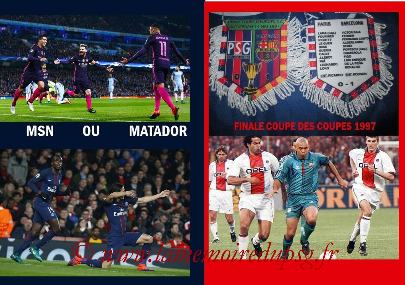 2017-02-14  PSG-Barcelone (8ème C1 aller, Programme pirate 2) - Pages 06 et 07