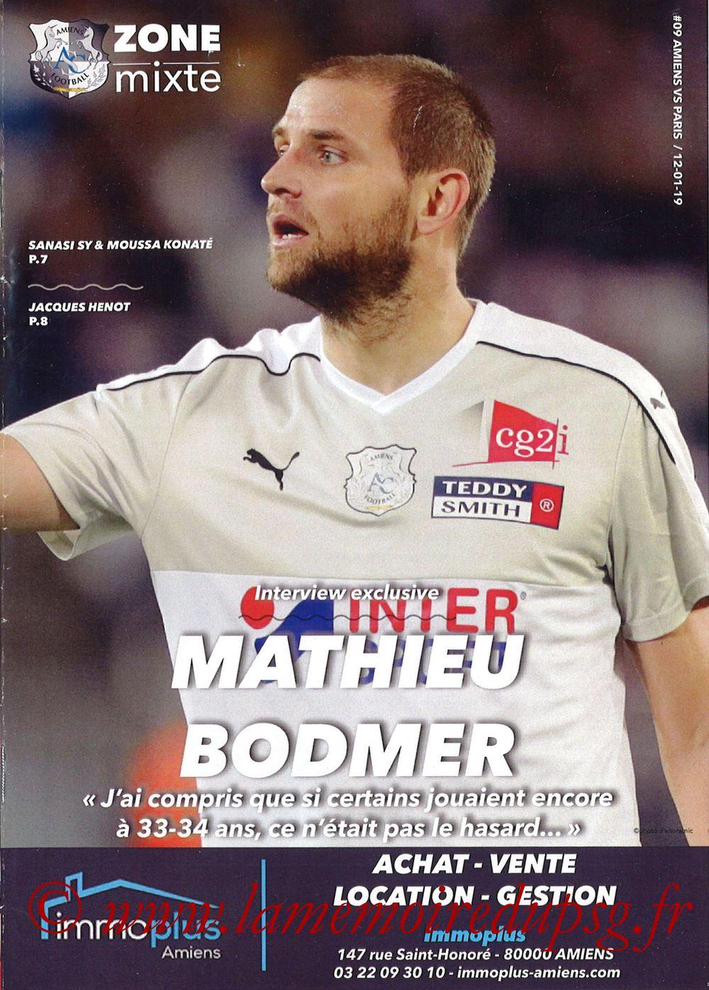 2019-01-12  Amiens-PSG (20ème L1, Zone mixte N°9)