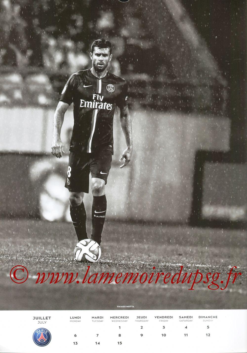 Calendrier PSG 2015 - Page 13 - Thiago MOTTA