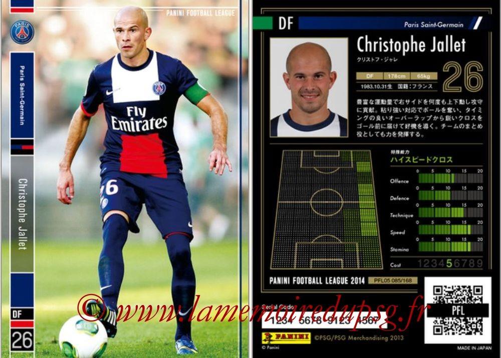 N° 085 - Christophe JALLET