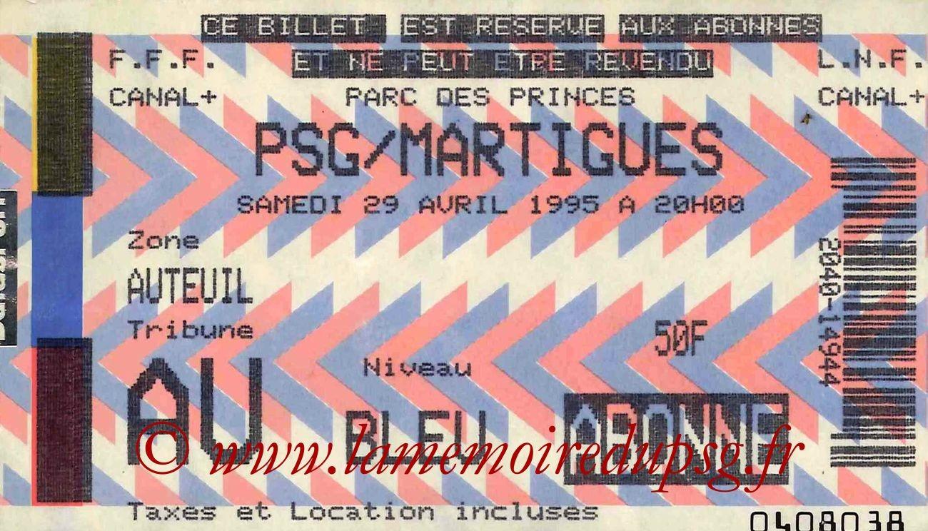 1995-04-29  PSG-Martigues (34ème D1)