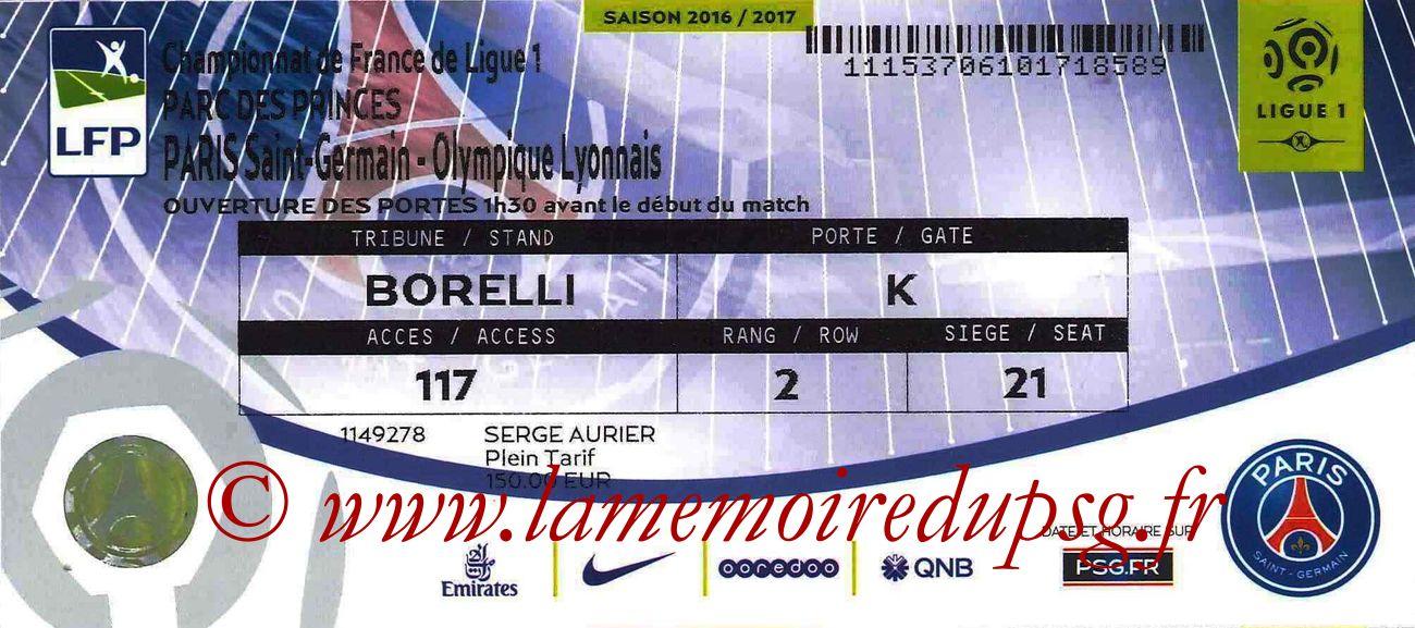 2017-03-19  PSG-Lyon (30ème L1 bis)