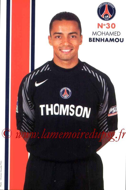 BENHAMOU Mohamed  05-06