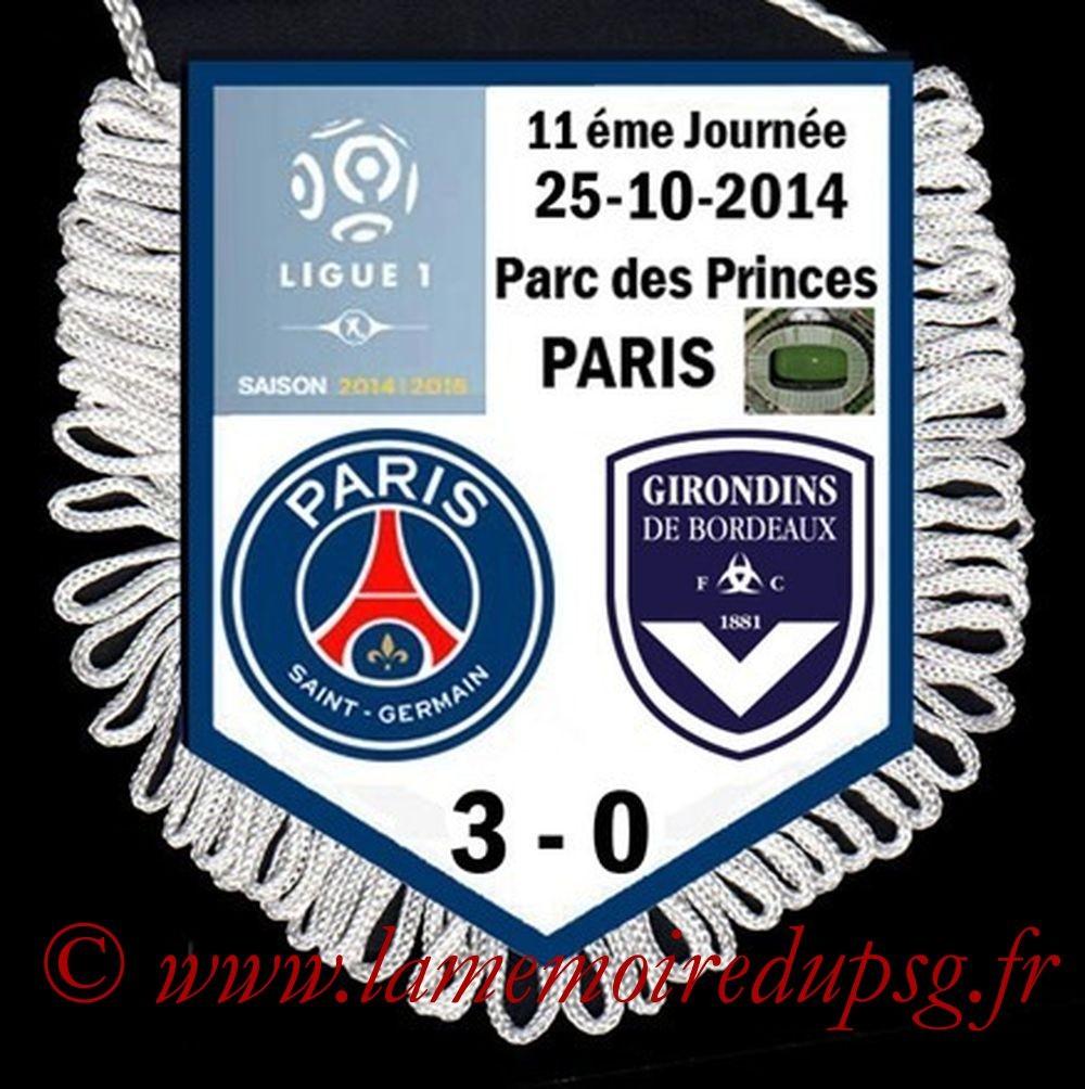 2014-10-25  PSG-Bordeaux (11ème L1)