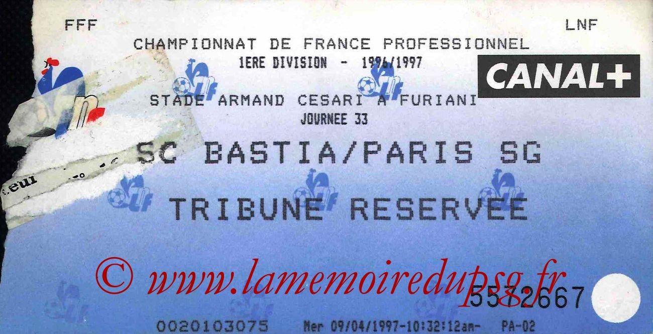 1997-04-15  Bastia-PSG (33ème D1)
