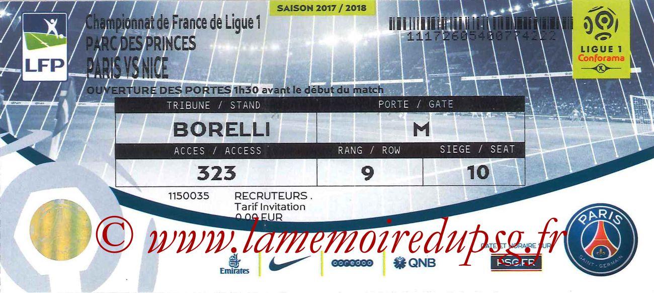 2017-10-27  PSG-Nice (11ème L1)