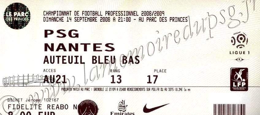 2008-09-14  PSG-Nantes (5ème L1)
