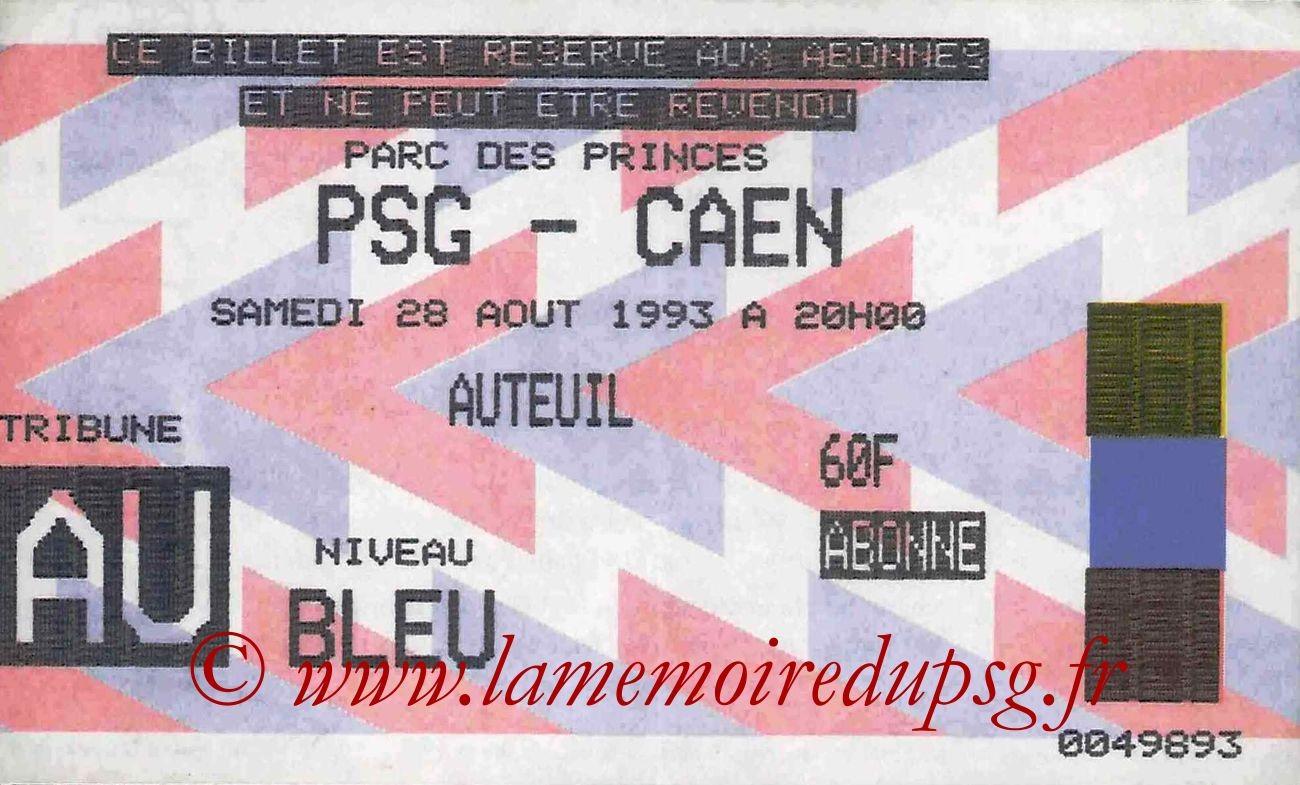 1993-08-28  PSG-Caen (6ème D1)