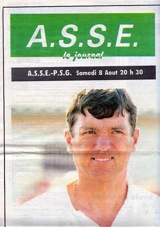 1992-08-08  Saint Etienne-PSG (1ère D1, ASSE le Journal N°59)