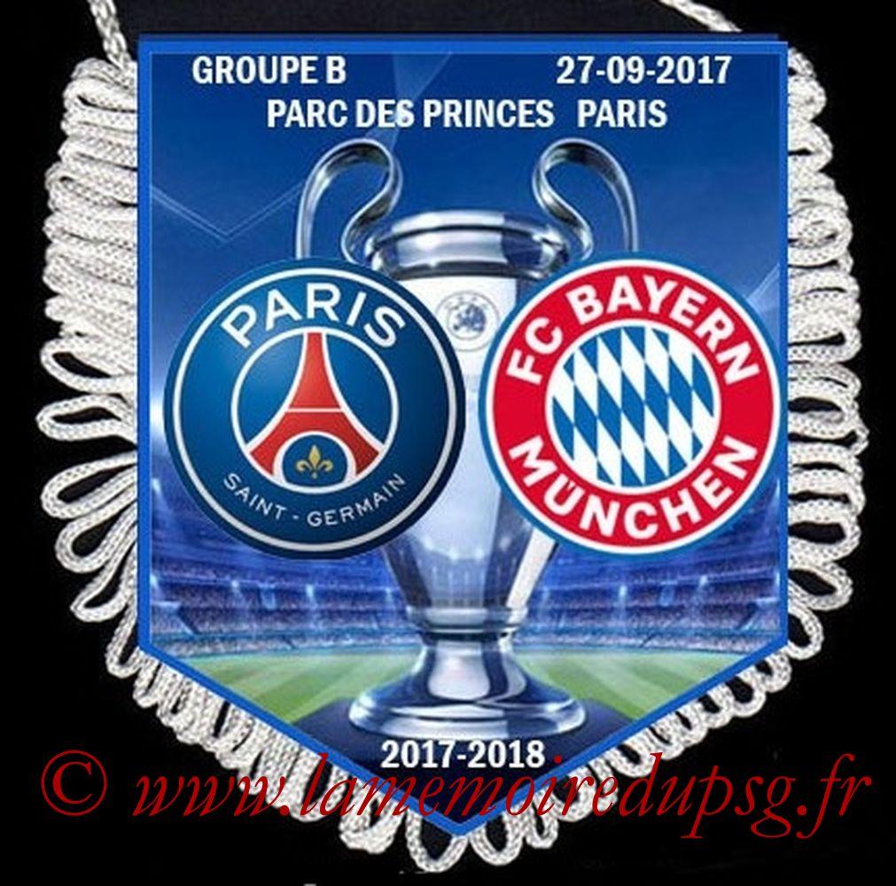 2017-09-27  PSG-Bayern (2ème Poule C1)