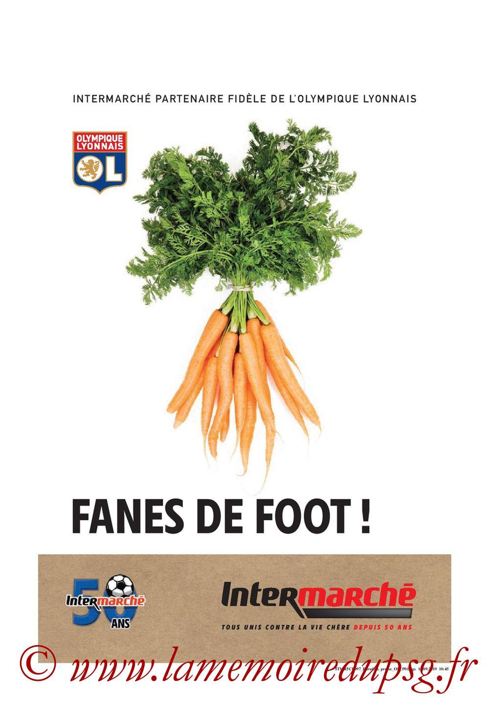 2019-09-22  Lyon-PSG (6ème L1, Tribune OL N°284) - Page 19