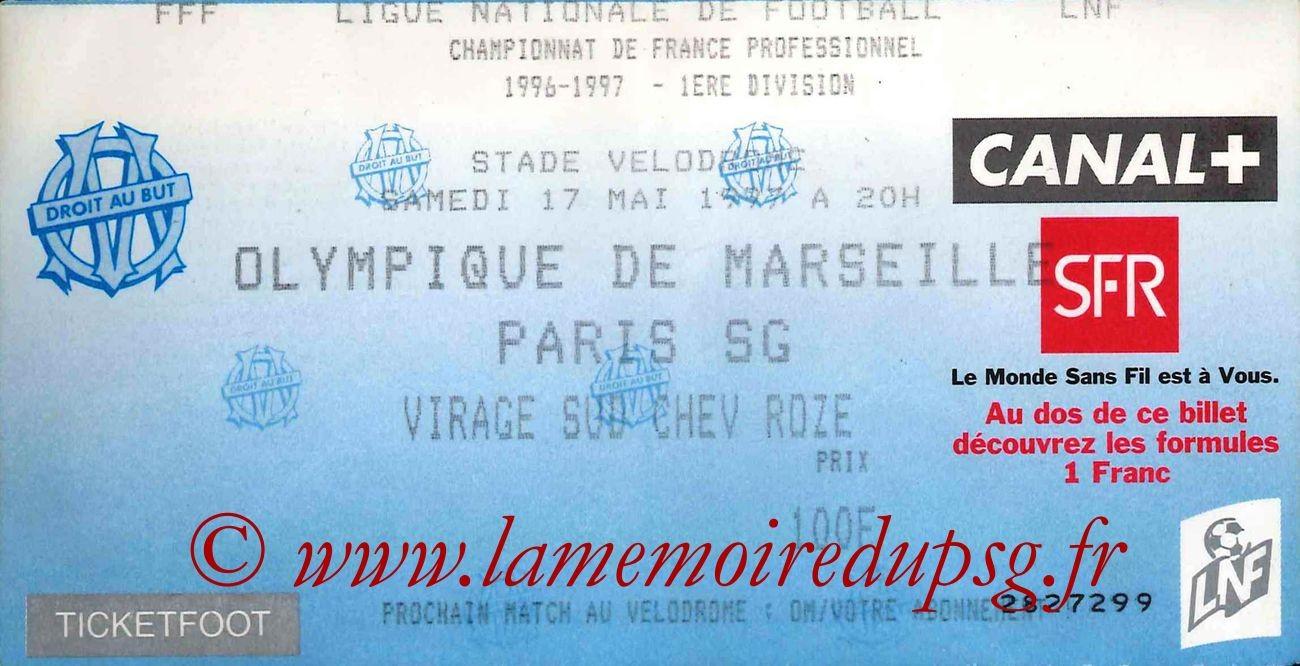 1997-05-17  Marseille-PSG (37ème D1)