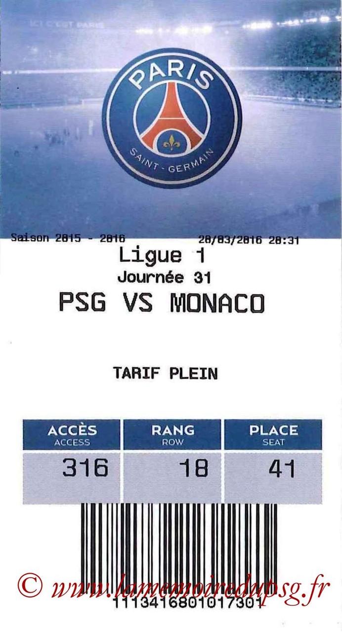 2016-03-20  PSG-Monaco (31ème L1, E-ticket)