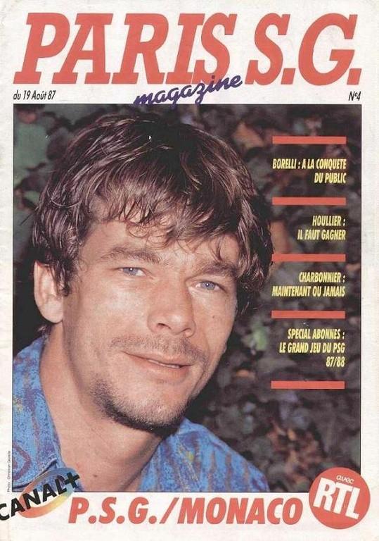 1987-08-19  PSG-Monaco (6ème D1, Paris SG Magazine N°4)