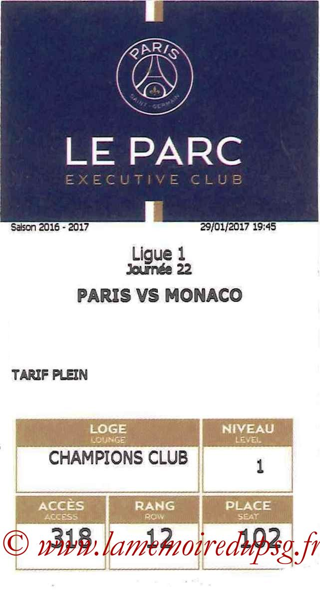 2017-01-29  PSG-Monaco (22ème L1, E-ticket Executive Club)