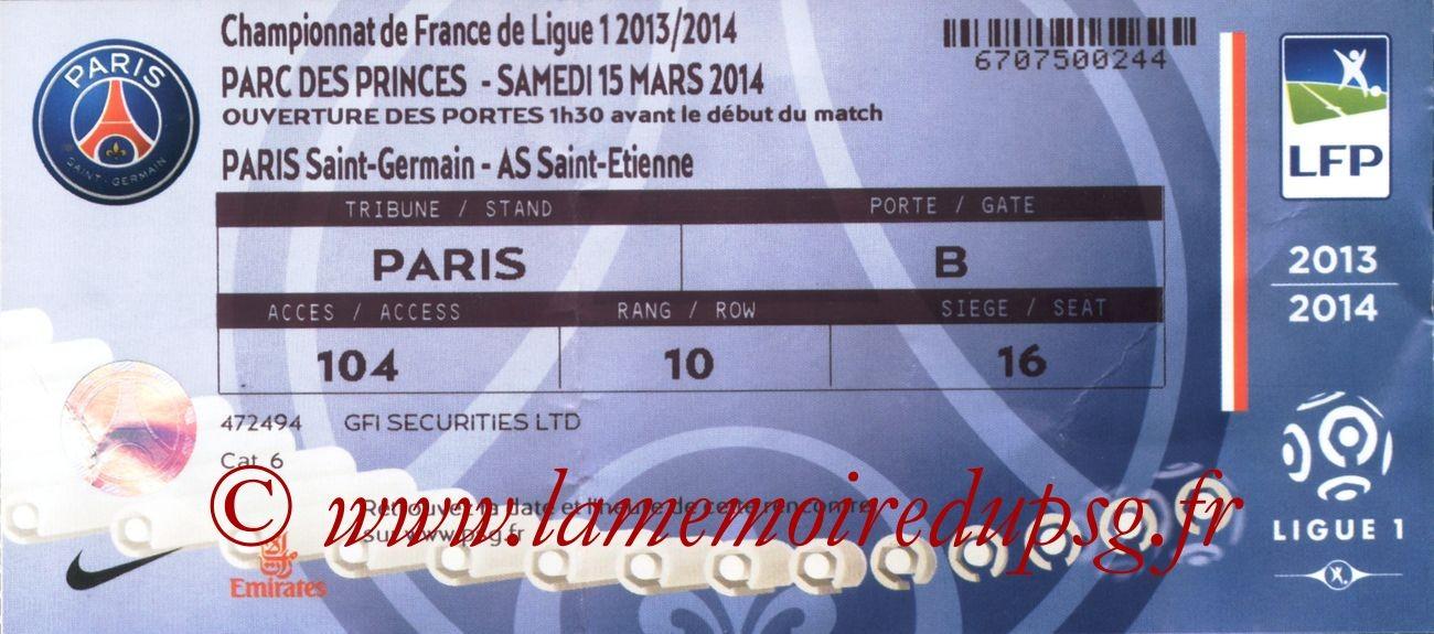 2014-03-16  PSG-Saint Etienne (29ème L1)