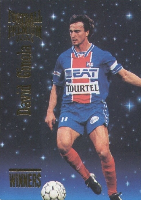 N° W21 - David GINOLA (Recto)