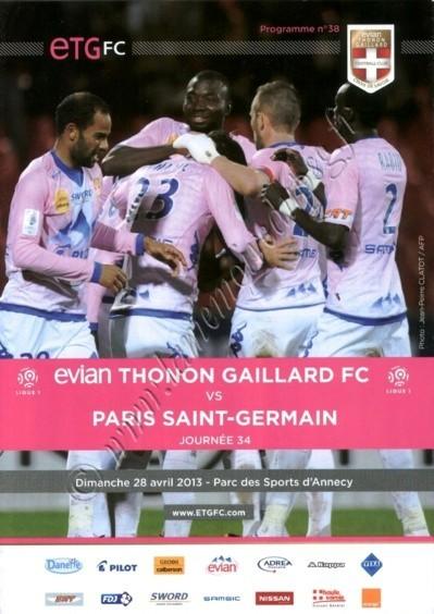 2013-04-28  Evian-PSG (34ème L1, Programme N°38)
