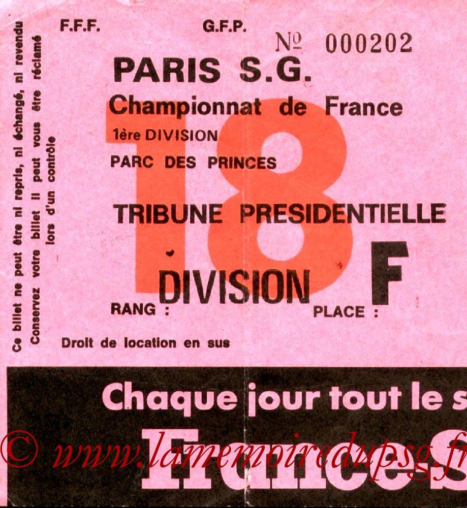 1977-06-01  PSG-Angers (36ème D1, Sans nom N°18)