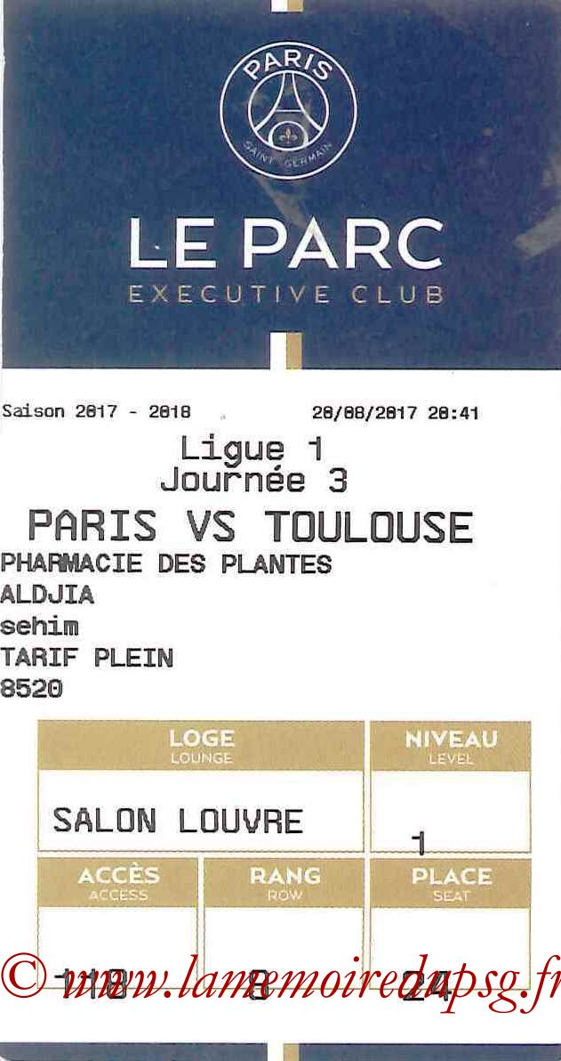 2017-08-25  PSG-Saint Etienne (4ème L1, E-ticket Executive club)