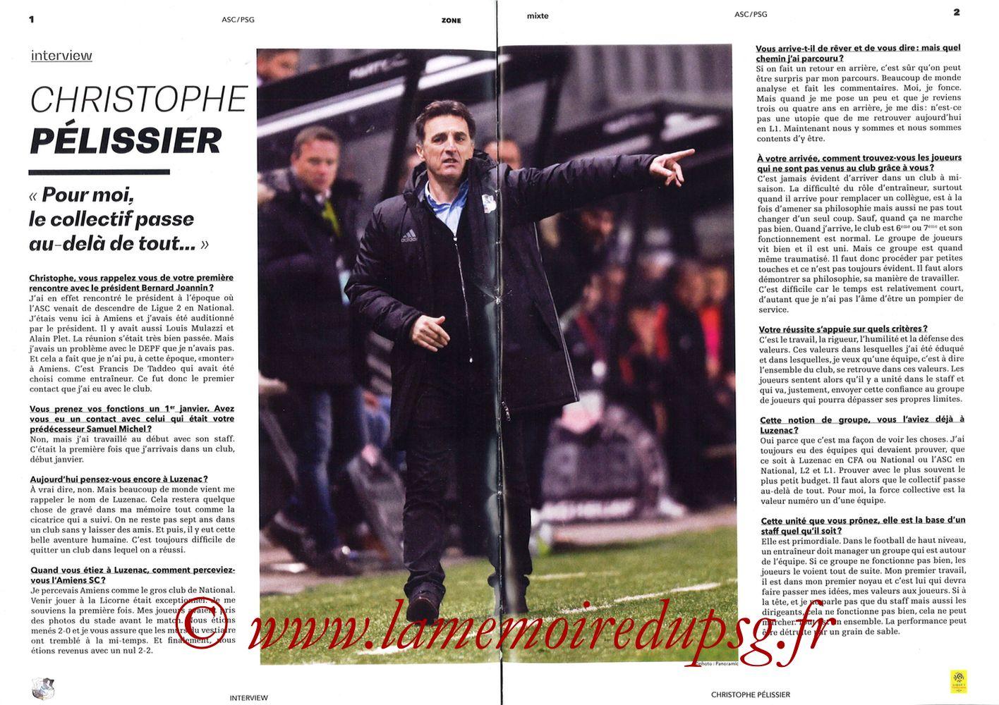 2018-05-04  Amiens-PSG (36ème L1, Zone Mixte N°13) - Pages 02 et 03