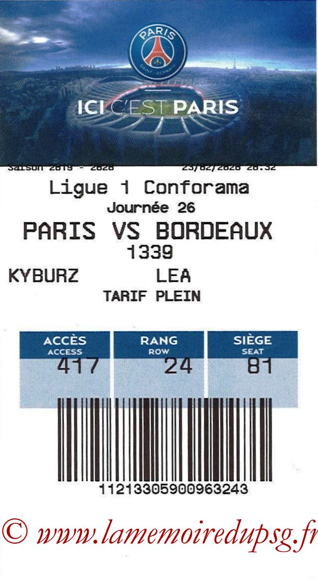 2020-02-23  PSG-Bordeaux (26ème L1, E-ticket)