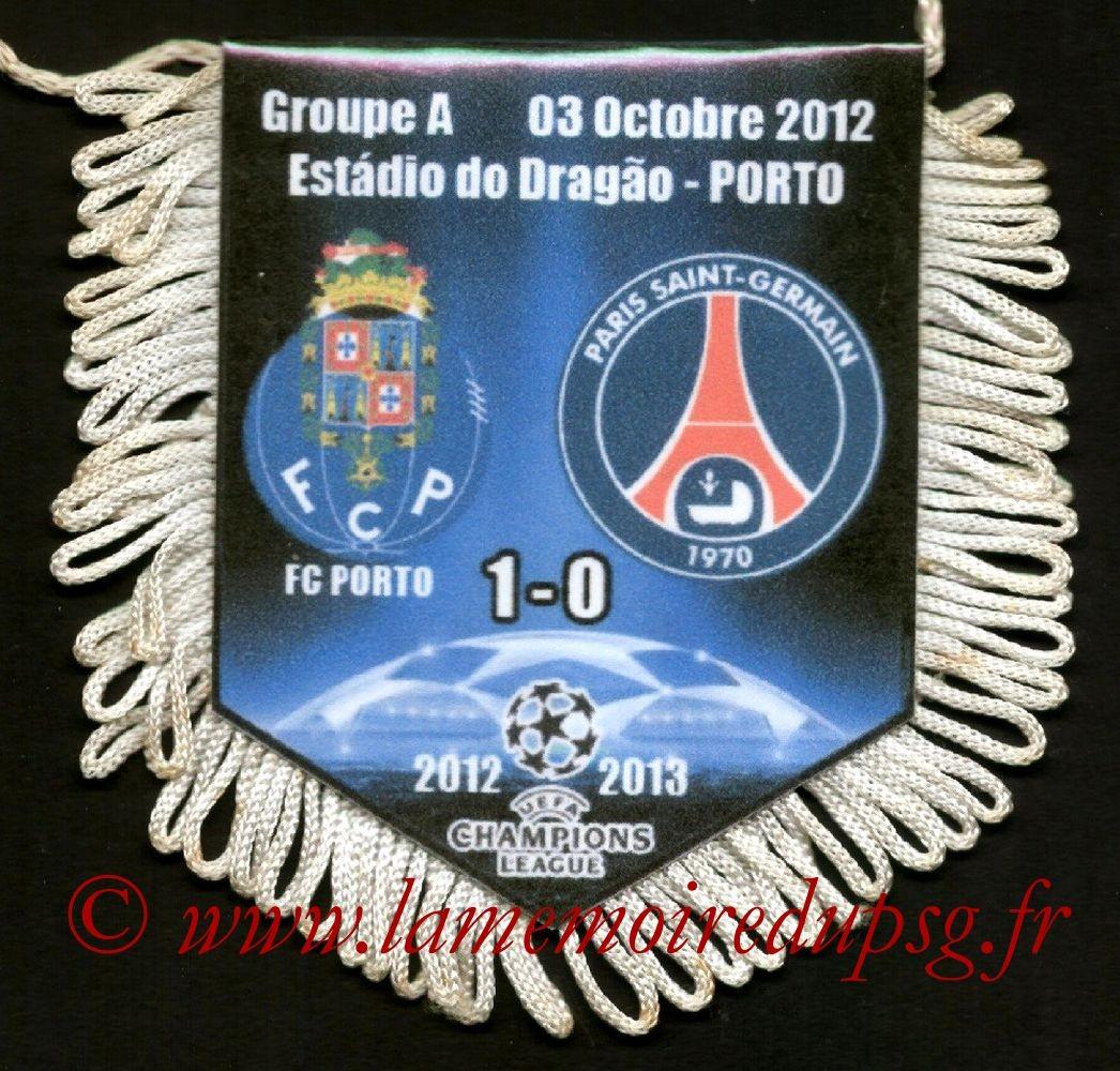 2012-10-03  FC Porto-PSG (2ème Poule C1)