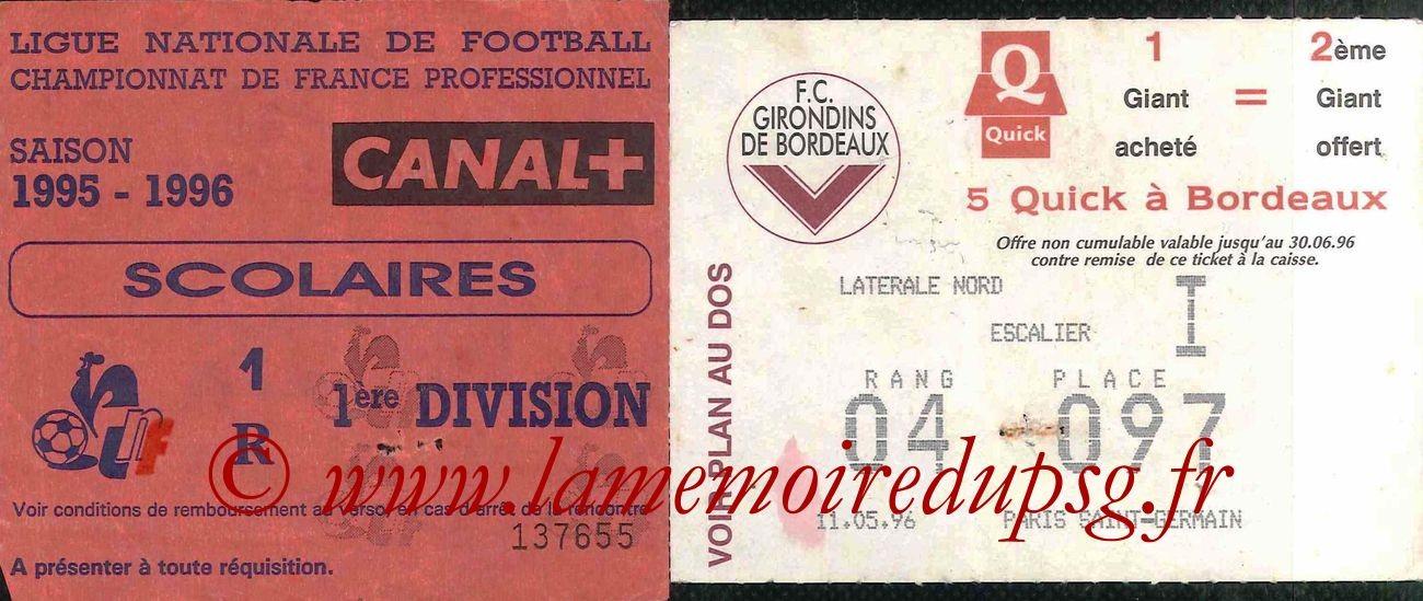 1996-05-11  Bordeaux-PSG (37ème D1)