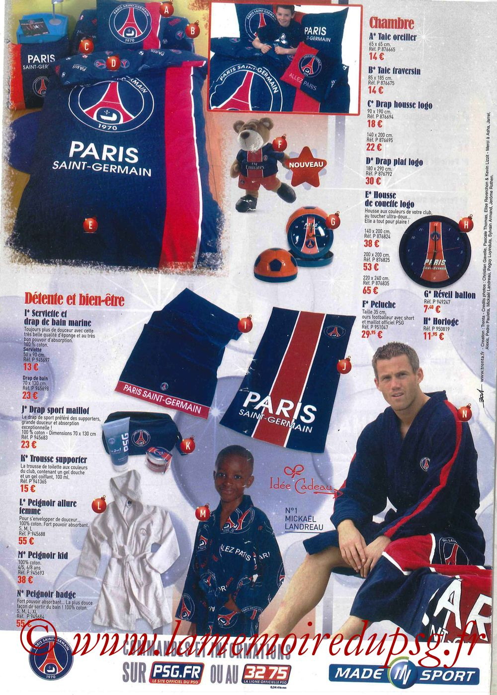Catalogue PSG - 2007-08 - Noêl - Pages 8