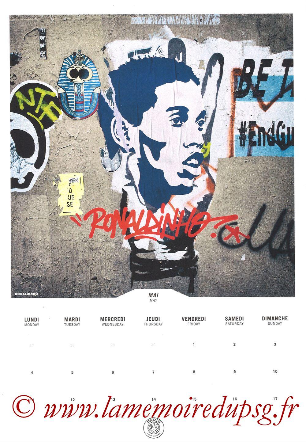 Calendrier PSG 2020 - Page 09 - RONALDHINO