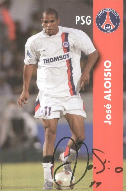 ALOISIO Jose blanc autographe  02-03