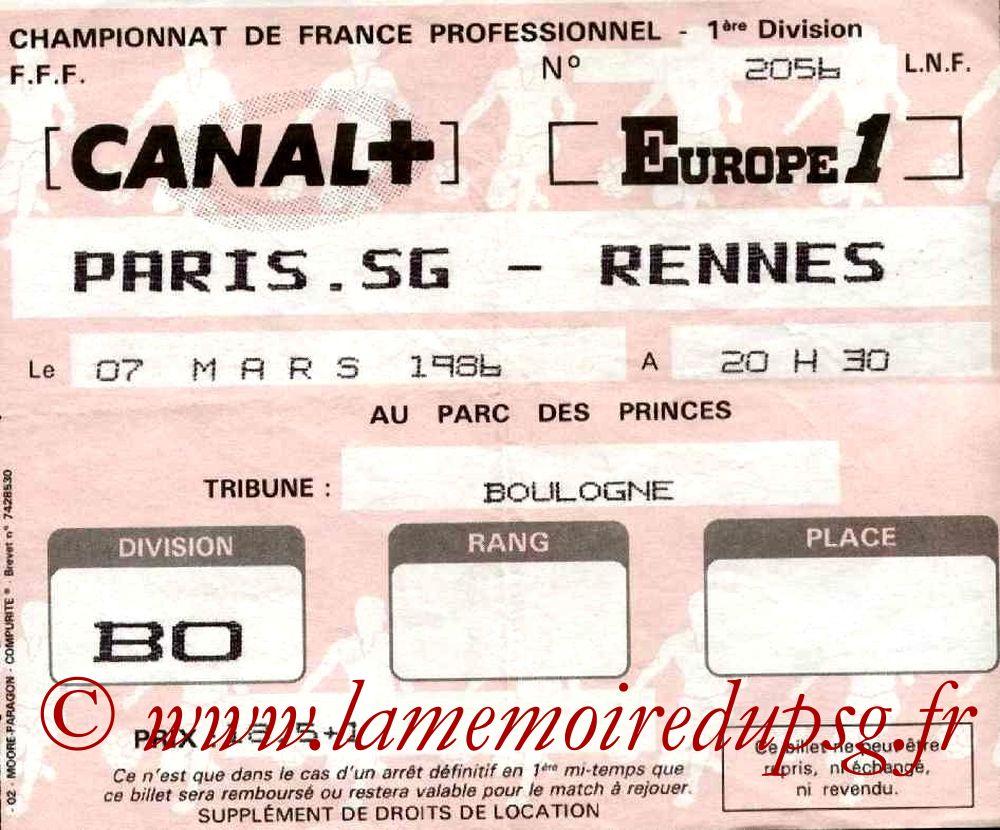 1986-03-07  PSG-Rennes (32ème D1)