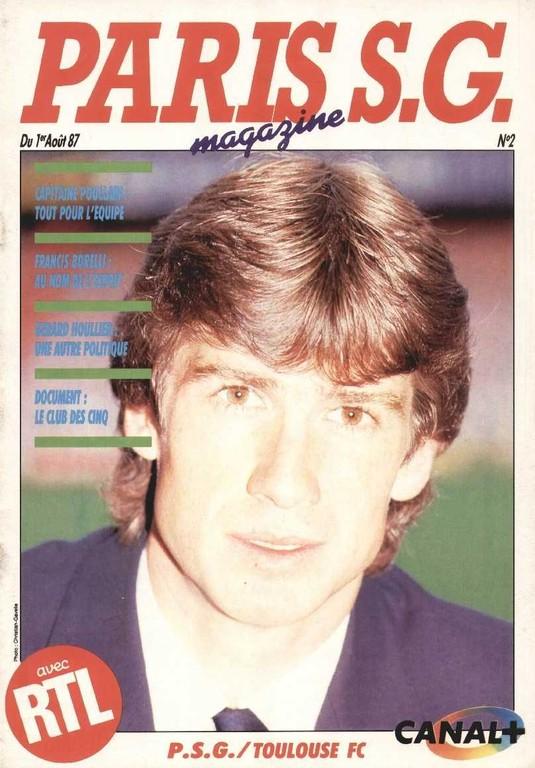 1987-08-01  PSG-Toulouse (3ème D1, Paris SG Magazine N°2)