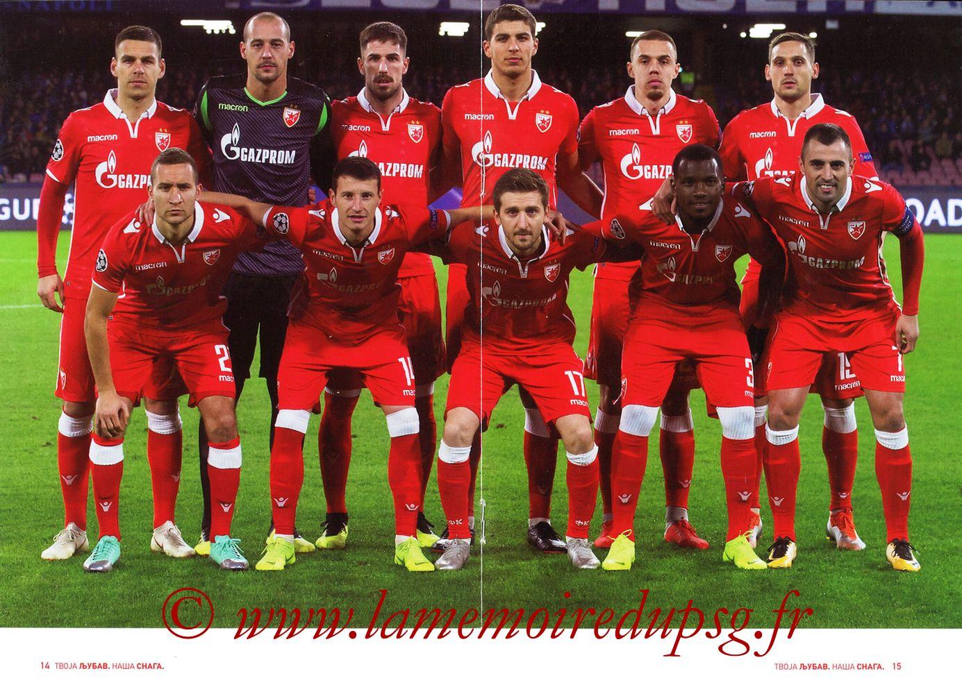 2018-12-11  Etoile Rouge de Belgrade-PSG (6ème C1, Programme officiel) - Pages 14 et 15