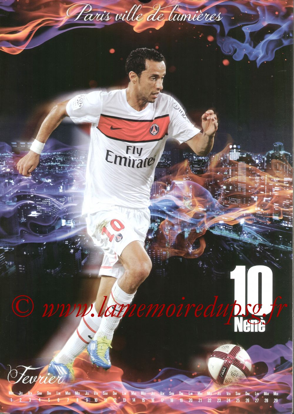 Calendrier PSG 2012bis - Page 02 - NENE