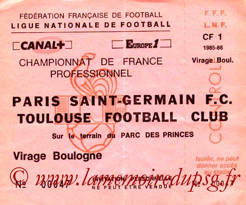 1985-11-22  PSG-Toulouse (21ème D1, Invitation)